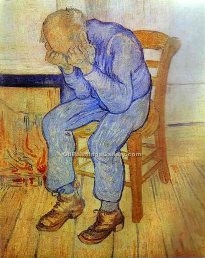"""Old Man in Sorrow"" by  Vincent Van Gogh"