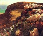 On English Coasts by  William Holman Hunt (Painting ID: AN-1029-KA)