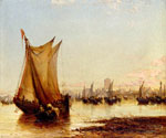 On the Coast of Holland by  James Webb (Painting ID: LA-0840-KA)