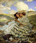 On the Dunes by  James Jebusa Shannon (Painting ID: ED-0648-KA)