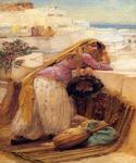 On the Terrace by  Frederick Arthur Bridgman (Painting ID: ER-0060-KA)