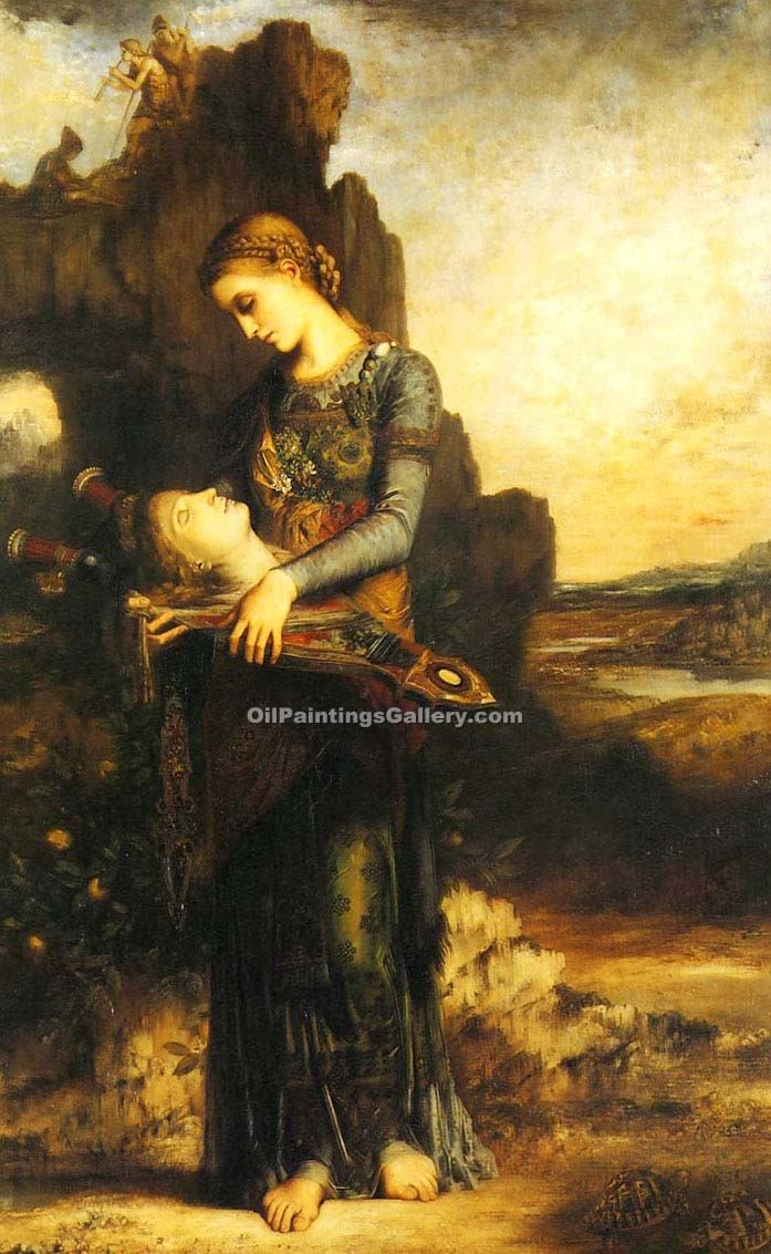 Orpheus By Gustave Moreau Painting Id Cm 2134 Ka