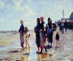 Oyster Gatherers of Cancale by  John Singer Sargent (Painting ID: EI-0412-KA)