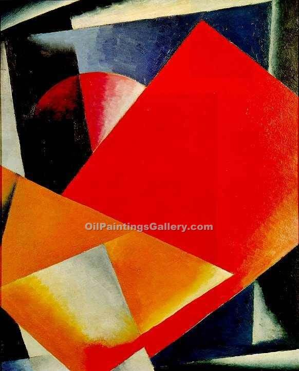 Painterly Architectonics by Lyubov Popova | Best Online Art Gallery - Oil Paintings Gallery