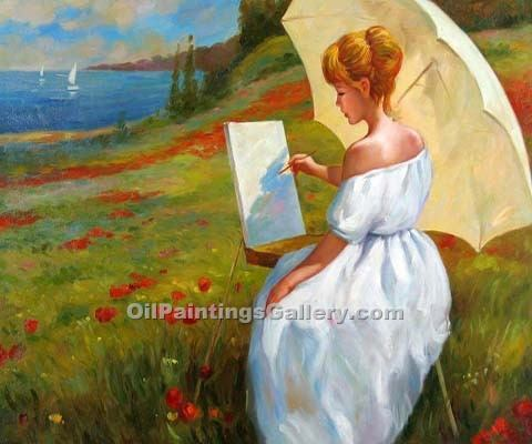 Buy Figure and Portrait Oil Painting Online - Figurative Reproduction Paintings - Painting Landscape