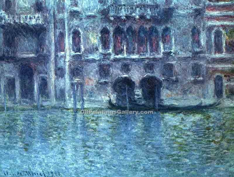 """Palazzoda Mula at Venice"" by  Claude Monet"