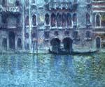 Palazzoda Mula at Venice by  Claude Monet (Painting ID: MO-1052-KA)