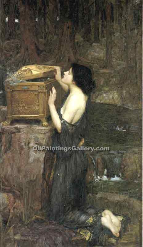 """Pandora 24"" by  John William Waterhouse"