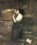 Pandora 24 by  John William Waterhouse (Painting ID: CL-4224-KA)