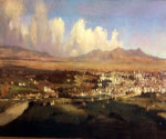 Panorama of Rome by  Ippolito Caffi (Painting ID: CI-0331-KA)