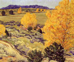Panoramic Landscape by  Walter Ufer (Painting ID: LA-2471-KA)