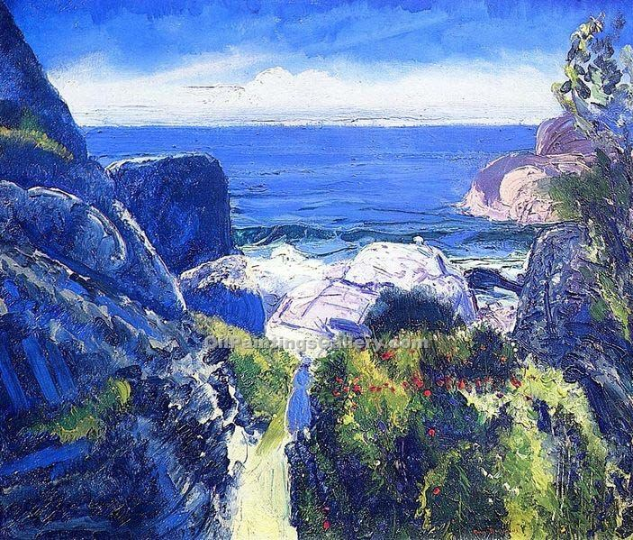 """Paradise Point"" by  George Bellows"