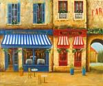 Paris Store Front  (Painting ID: CI-1381-KA)