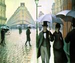 Paris Street Rainy Day by  Gustave Caillebotte (Painting ID: CI-0722-KA)