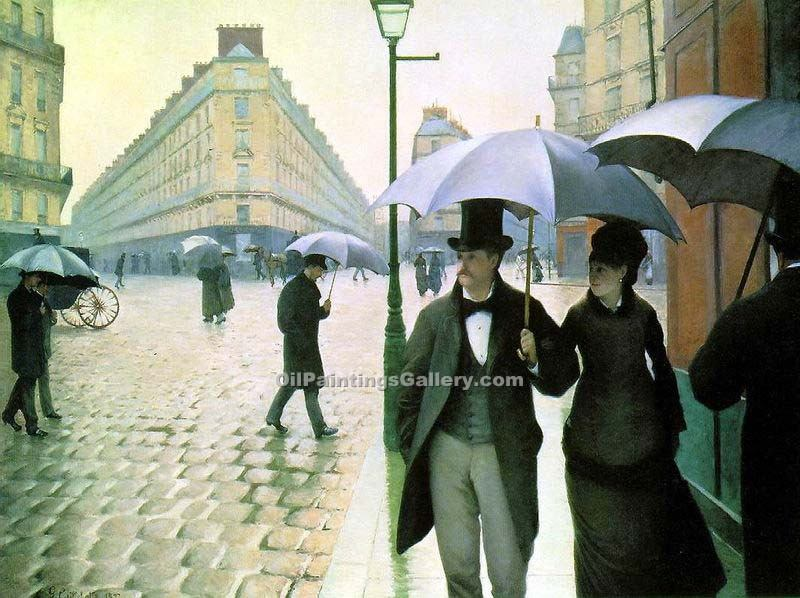 """Paris Street Rainy Day"" by  Gustave Caillebotte"