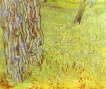 Park Conor with a Blooming Lawn by  Vincent Van Gogh (Painting ID: VG-0135-KA)