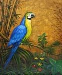 Parrot 63 Oil Painting (ID: AN-1063-B)
