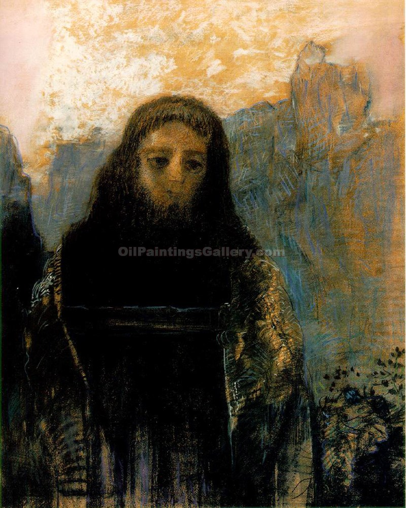 """Parsifal"" by  Odilon Redon"
