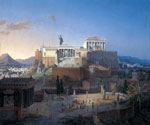Parthenon by  Ippolito Caffi (Painting ID: CI-0333-KA)