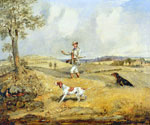 Partridge Shooting by  Henry Alken Thomas (Painting ID: AN-0311-KA)