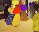 Passers By by  Felix Vallotton (Painting ID: EI-0313-KA)