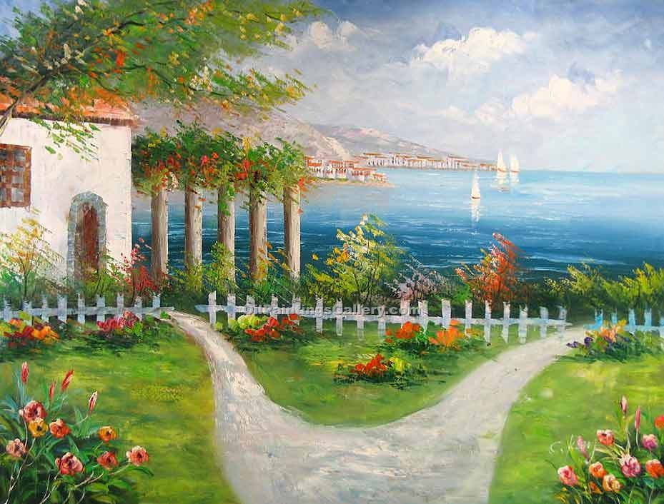 """Path by the Mediterranean"""