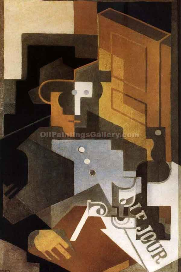 """People"" by  Juan Gris"