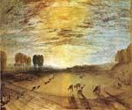 Petworth Park by  William Turner (Painting ID: LA-6210-KA)