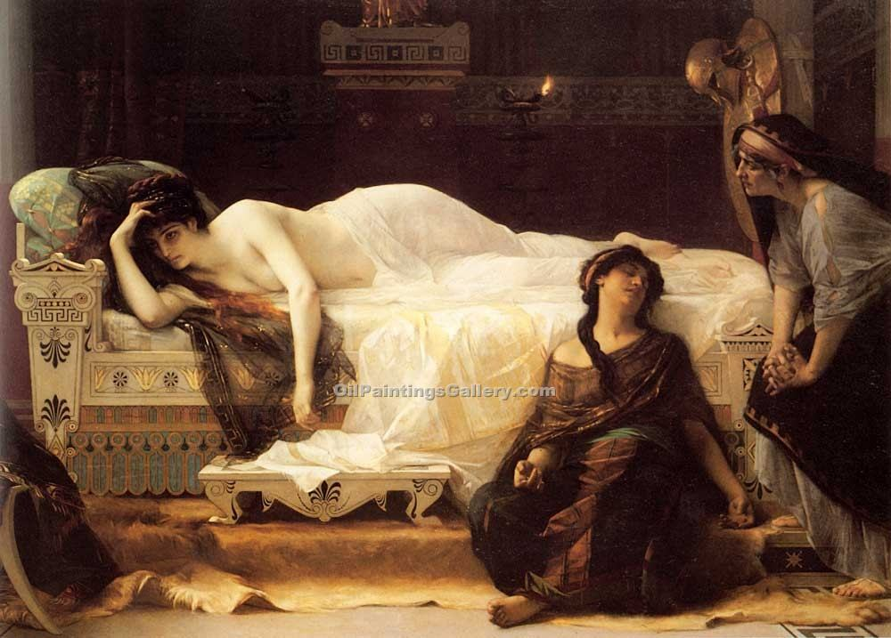 """Phedre"" by  Alexandre Cabanel"