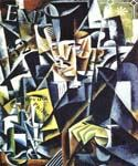 Philosopher by  Lyubov Popova (Painting ID: AB-8468-KA)