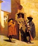 Pifferari 80 by  Jean Leon Gerome (Painting ID: CL-3580-KA)