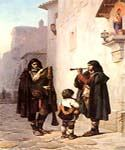 Pifferari 81 by  Jean Leon Gerome (Painting ID: CL-3581-KA)