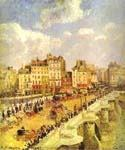 Point Neuf Paris by  Camille Pissarro (Painting ID: CI-0830-KA)