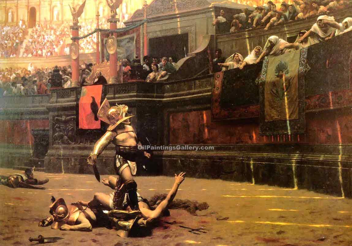 Police Verso by Jean Leon Gerome | Oil Paintings Portraits - Oil Paintings Gallery