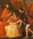 Pope Paul III and His Cousins by   Titian (Painting ID: DA-0042-KA)