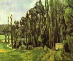 Poplar Trees by  Paul Cezanne (Painting ID: MO-1483-KA)