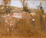 Poppies Isles of Shoals by  Frederick Childe Hassam (Painting ID: CK-6033-KA)