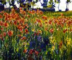 Poppies in France by  Robert Vonnoh (Painting ID: LA-3450-KA)