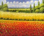 Poppy Field 20  (Painting ID: LA-5320-KA)