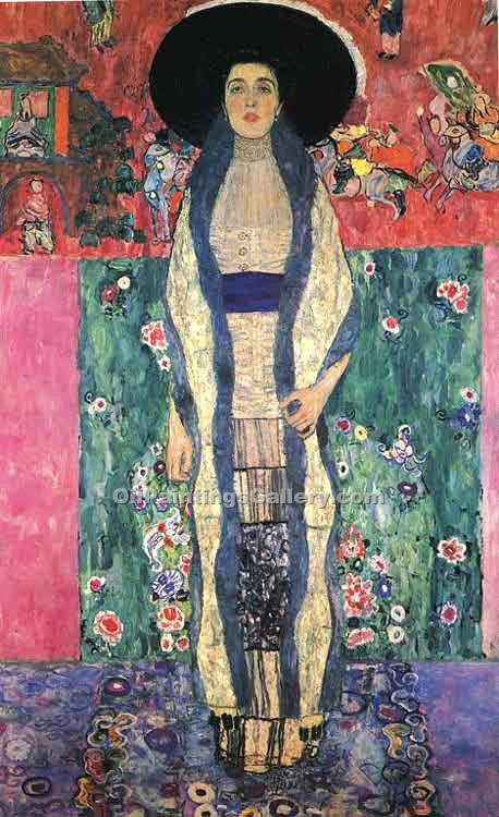 """Portrait of Adele Bloch-Bauer"" by  Gustav Klimt"