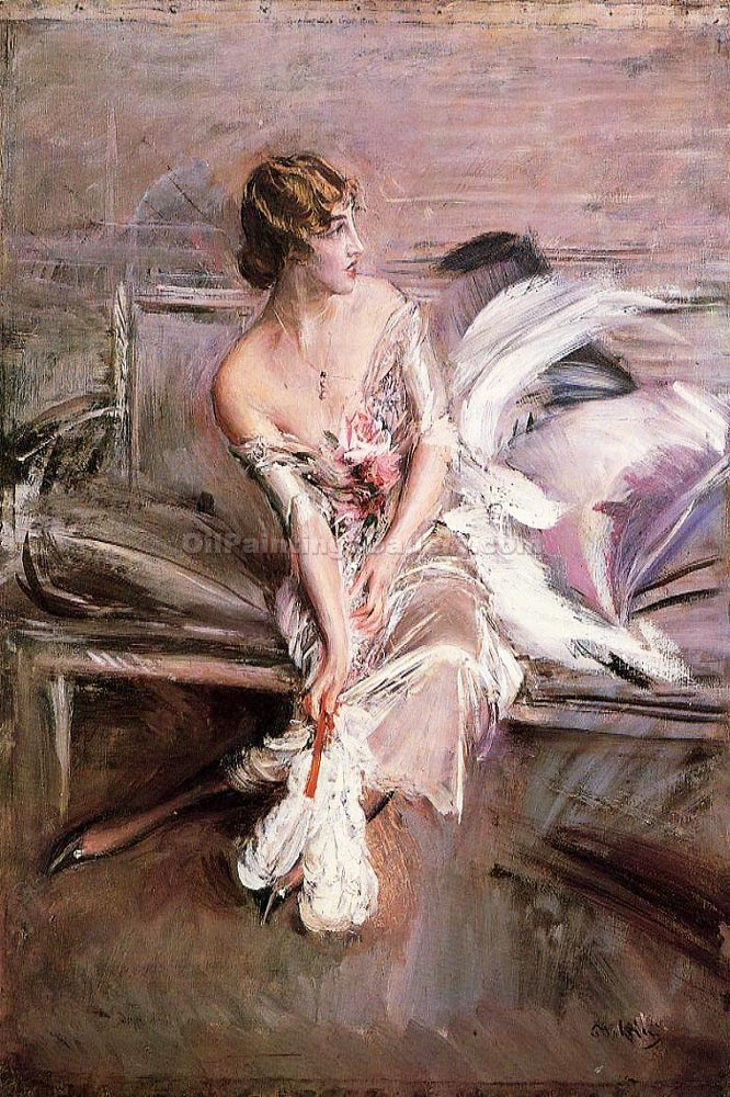 """Portrait of Gladys Deacon"" by  Giovanni Boldini"