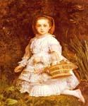 Portrait of Gracia Lees by  John Everett Millais (Painting ID: CM-0736-KA)