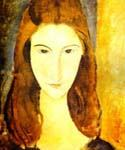 Portrait of Jeanne Hebuterne 18 by  Amedeo Modigliani (Painting ID: EI-2018-KA)