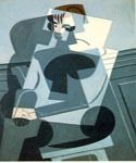 Portrait of Josette by  Juan Gris (Painting ID: AB-8522-KA)