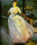 Portrait of Madame Roger Jourdain by  Paul Albert Besnard (Painting ID: CL-0960-KA)