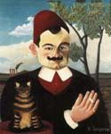 Portrait of Monsieur X by  Henri Rousseau (Painting ID: RO-0145-KA)