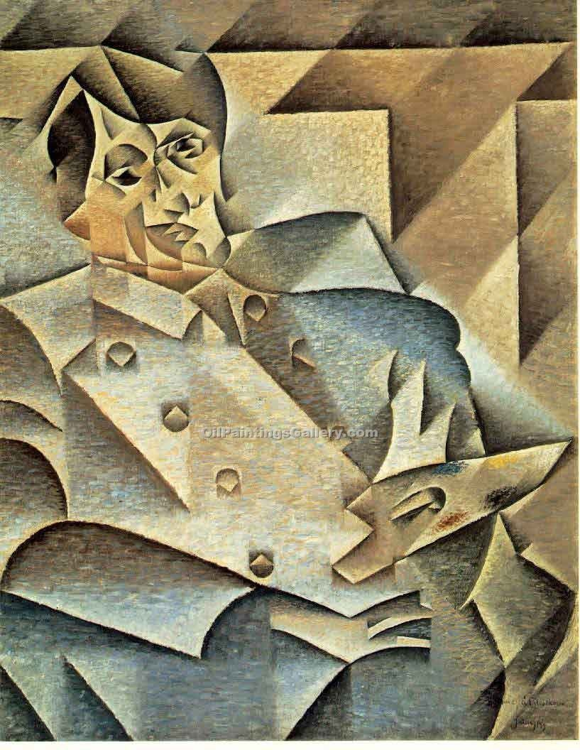 """Portrait of Picasso"" by  Juan Gris"