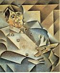 Portrait of Picasso by  Juan Gris (Painting ID: AB-8521-KA)
