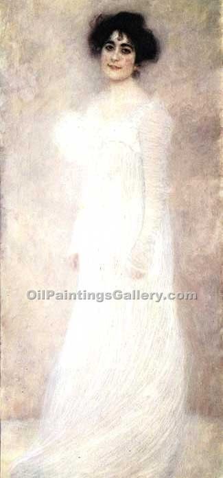 """Portrait of Serena Lederer"" by  Gustav Klimt"