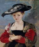 Portrait of Susanna Lunden by  Peter Paul Rubens (Painting ID: CM-1471-KA)